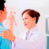 Exame admissional menor preço na Saúde
